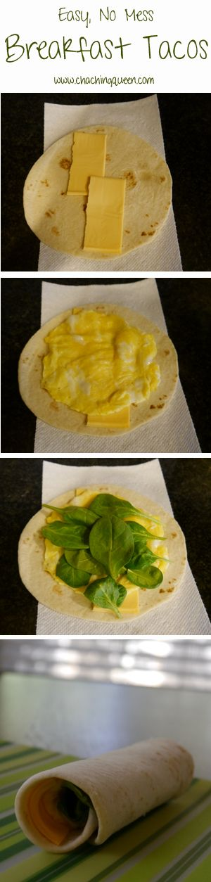 Easy, No Mess Breakfast Tacos Recipe – Healthy Variety
