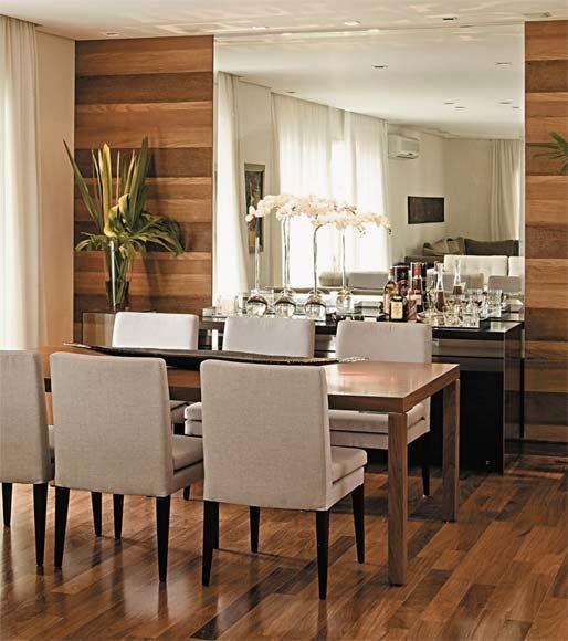 Sala de Jantar projetada pelo arquiteto Décio Navarro