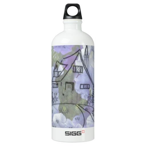Cottage Embroidery & Petunias SIGG Traveler 1.0L Water Bottle