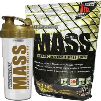 Buy Promatrix Mass Advanced Muscle Mass Gainer 5lbs + 1lb Bonus with Free Shaker online at Lazada. Discount prices and promotional sale on all. Free Shipping.