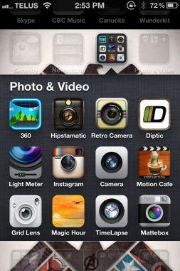 #iPhone photo apps