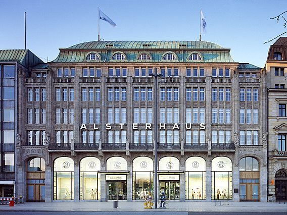 Alsterhaus, luxury shopping