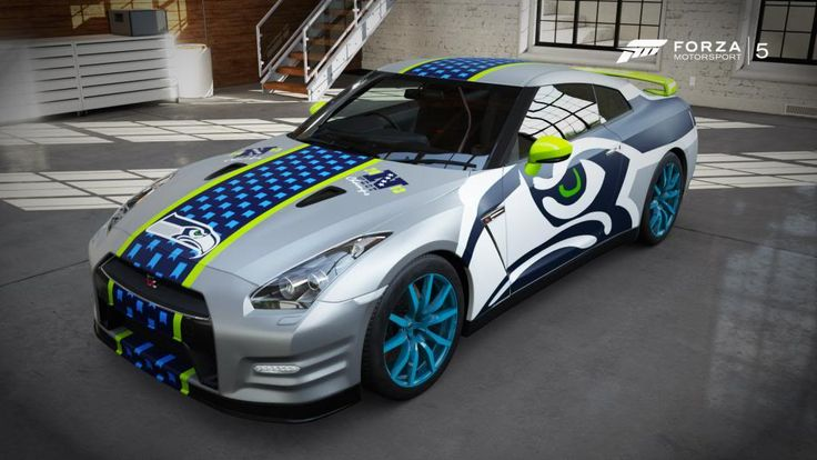 Seattle Seahawks Designs  Fantasy Paint Booth  Forza Motorsport Forums  Cool Jet City Stuff