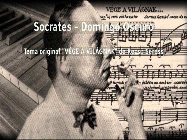 """""""Sócrates el Guitarrista"""" interpretando un dúo de guitarra acústica y eléctrica, del tema del pianista Húngaro Rezső Seress, titulado originalmente como """"Vége a Világnak"""". Ver más info sobre el tema por acá: https://en.wikipedia.org/wiki/Gloomy_Sunday  Sócrates performing a duet with acoustic guitar and electric guitar, of the song originally called """"Vége a Világnak"""", and popularize…"""