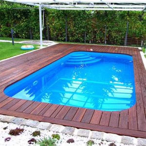 pp pool 4 8 1 5 m rechteck pool pinterest schwimmbecken schwimmb der und garten pool. Black Bedroom Furniture Sets. Home Design Ideas