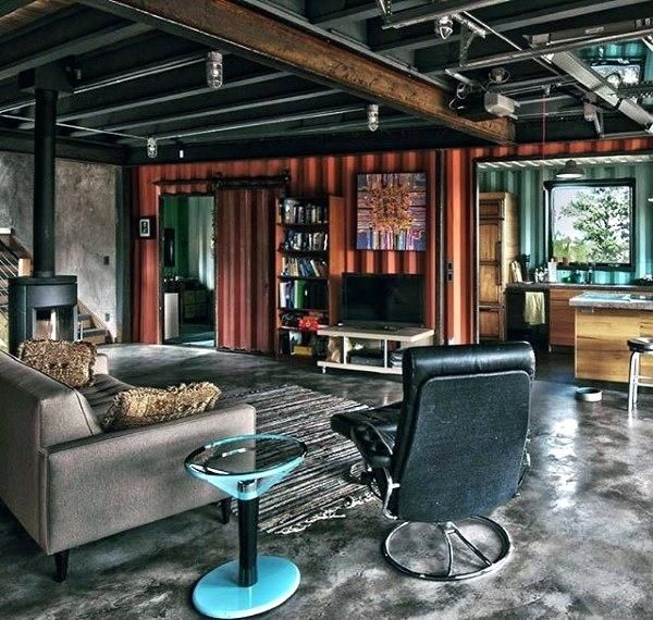 Container Home Design Ideas: Bachelor Pad - Google Search (With Images)
