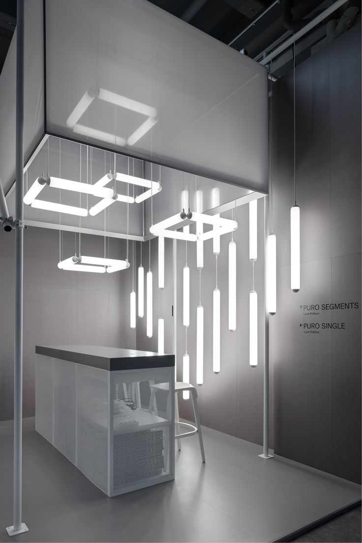 Come by and visit us at @Light_Building! You can see the new Puro series. The diffused light of the glass tubes and the exciting interaction between vertical and horizontal light elements create a unique light atmosphere in any space. Brokis stand D20, hall 1.1