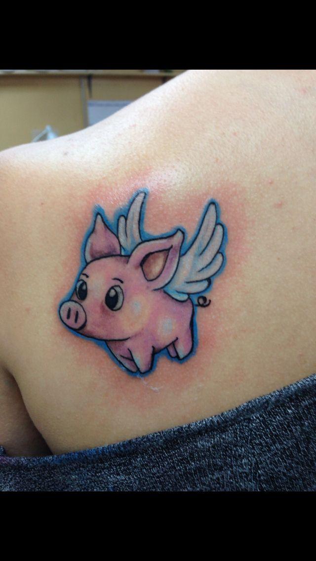 Piggy tattoo Inkredible Art Galloway NJ ask for
