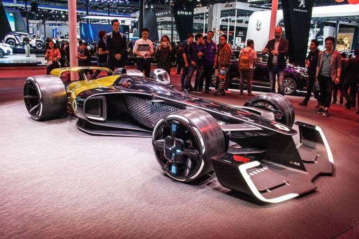 Mit dem R.S. 2027 Vision zeigt Renault, wie sie sich eine umweltfreundliche Motorsport-Zukunft vorstellen. Mit 1.360 PS soll der Hybrid-F1-Renner unterwegs sein.