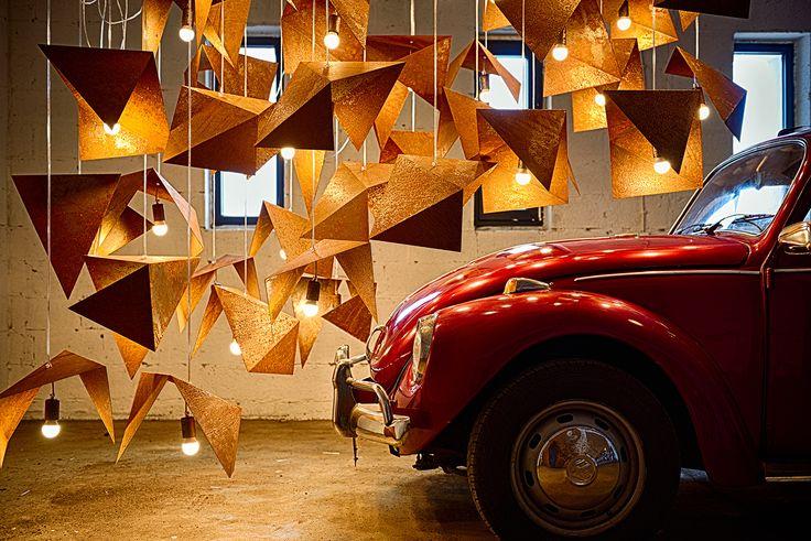 Pendant rust lamp | Gie El
