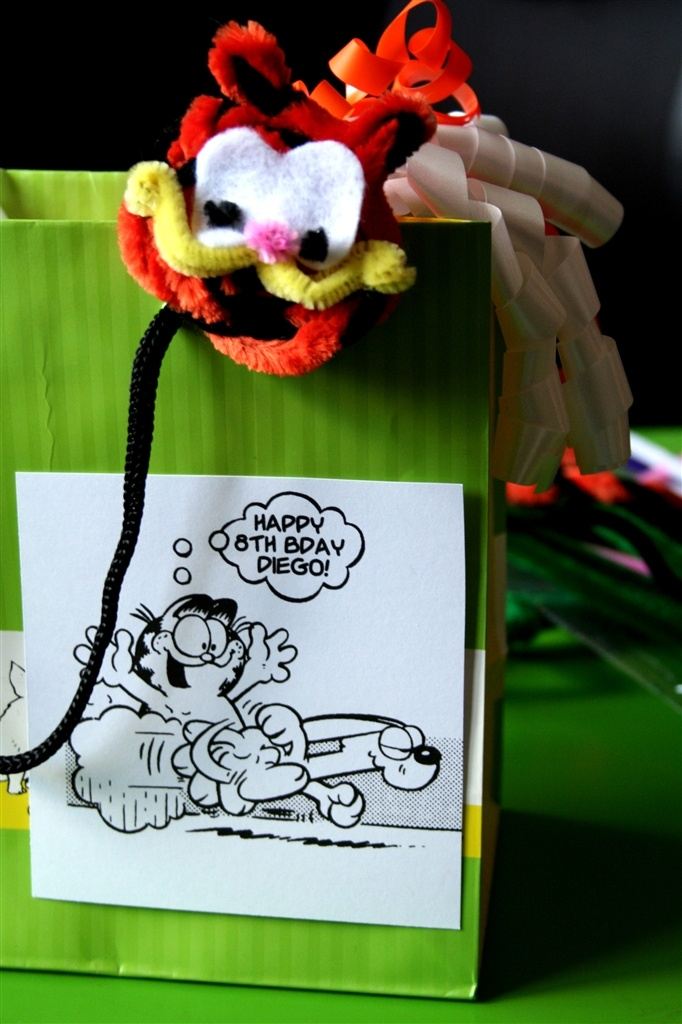 Garfield craft ideas