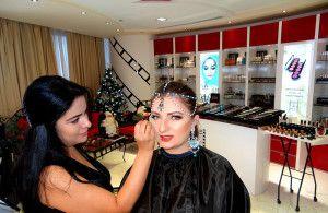 Arabic Makeup. Professional Course in Dubai.