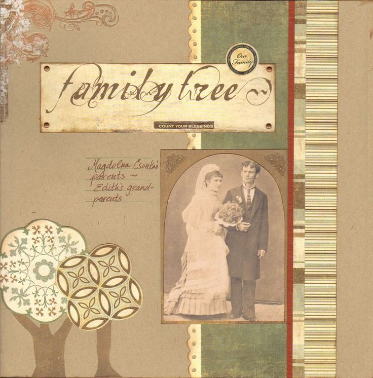 83 best Family tree scrapbook images on Pinterest | Digital ...