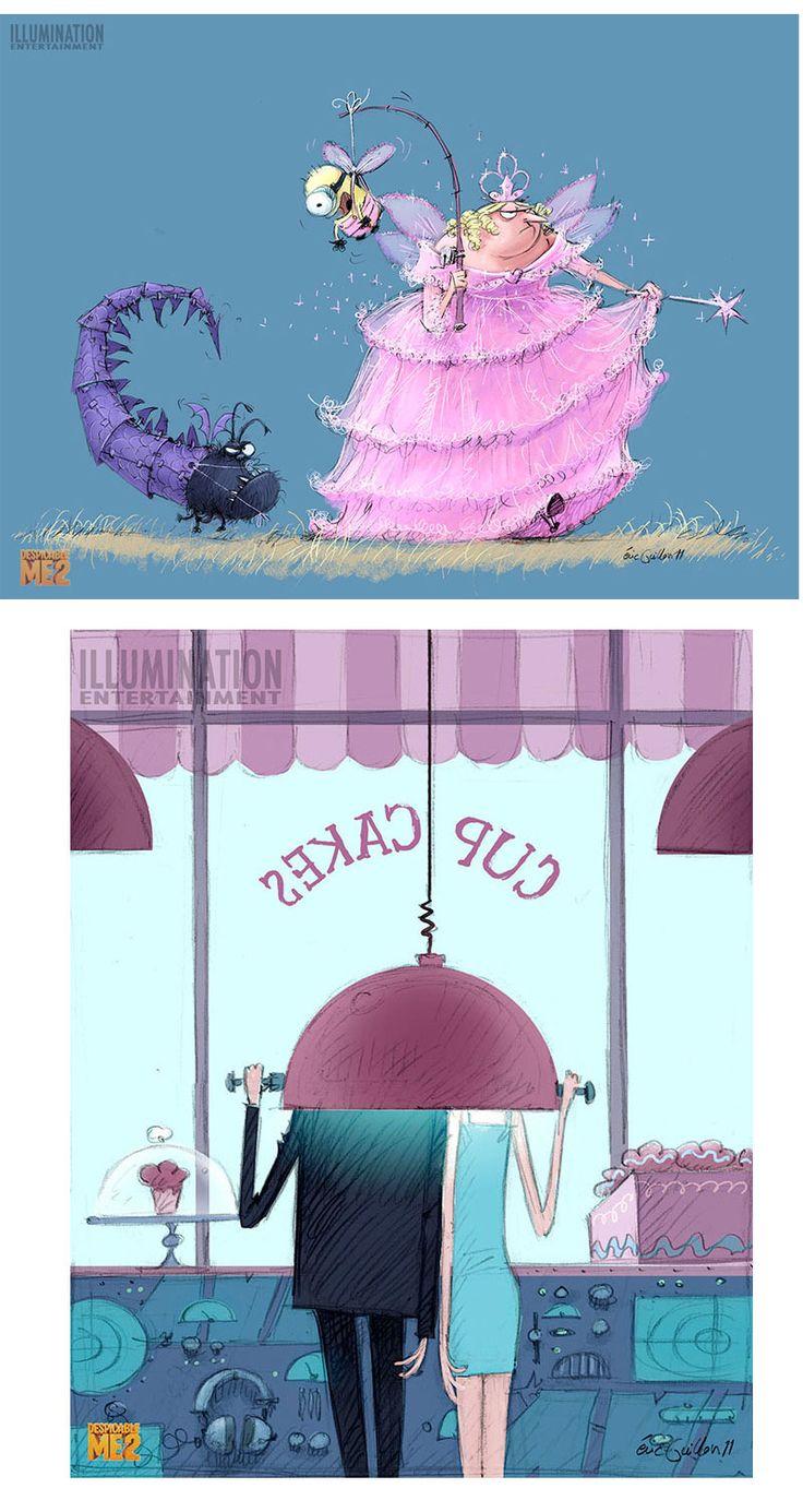 Conheça um pouco da arte de Despicable Me 2   THECAB - The Concept Art Blog