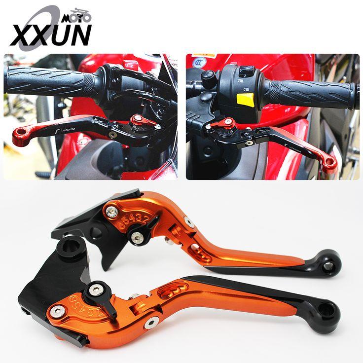 CNC Motorcycle Adjustable Folding Extendable Brake Clutch Levers For yamaha SUPERTENERE XT1 2012 2013 2014 #Affiliate