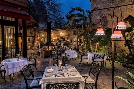 Seraser restaurant in Antalya -  Another restaurant that has built an esteemed reputation on the uniqueness of their menu. They say their aim is not only to appease your hunger but also to expand your horizons and one look at the food on offer confirms their mission.