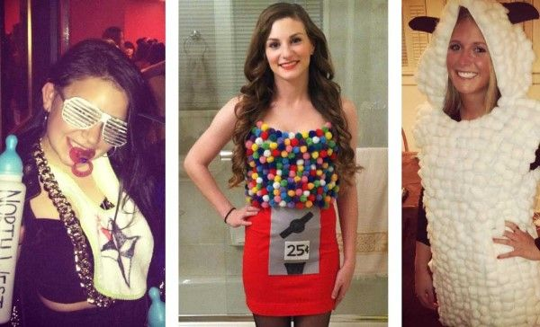 Cute Crazy and Sweet Adult Halloween Costumes