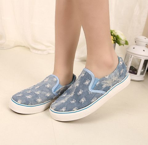 Cool sneakers flat round toe comfortable girls shoes XD-JD092-Lovelyshoes.net