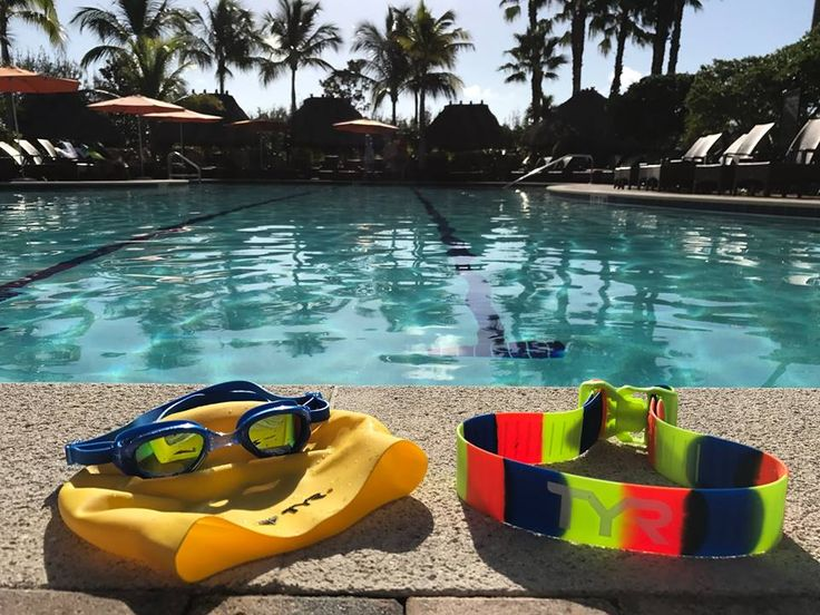 Goggles✔️ Swim Cap✔️ Rally Training Strap✔️ Whether you're still having fun in the ☀️ , or you're back at practice , we've got the gear to get you through today's workout !