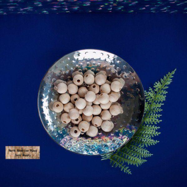 12mm Round Beads – North American Wood Bead Supply
