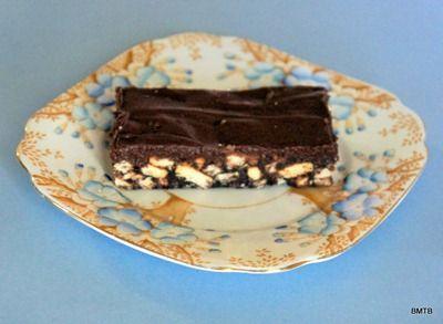 Choc Fudge Biscuit Slice