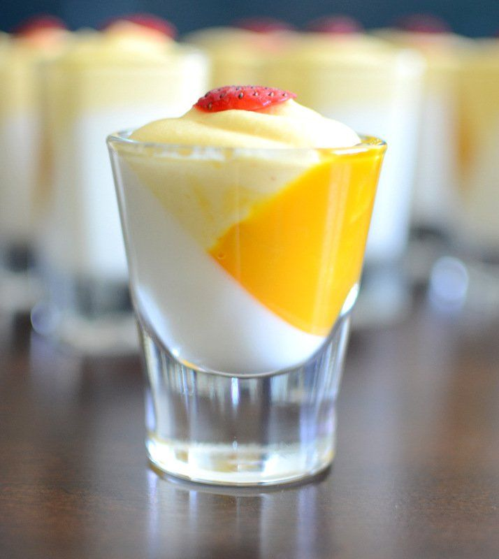 Vanilla Pannacotta with Mango Mousse is a perfect dessert for parties and celebrations. It gives a great visual appeal and tastes awesome.