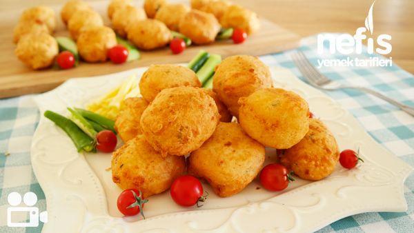 Kahvaltılık Peynirli Lokma Börek Videosu
