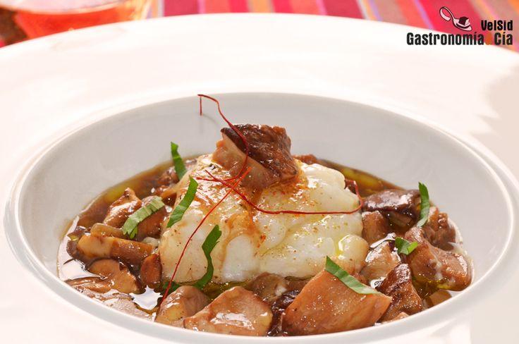 Bacalao con boletus | Gastronomía & Cía