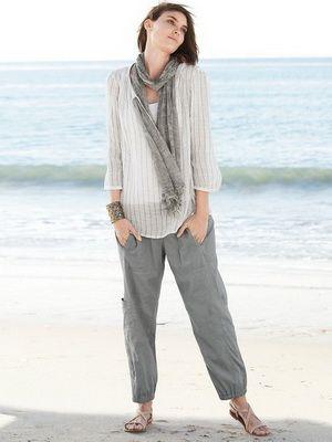 Женские льняные брюки на 2016 год: фото моделей, с чем носить