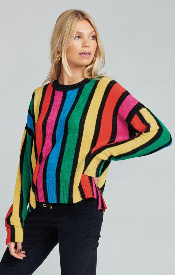 d6808fdcdd7 Jesse Sweater ~ Rainbow Parade Knit