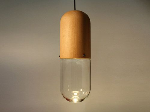 """Pil"" pendant lamps from New Zealand's Designtree studio"
