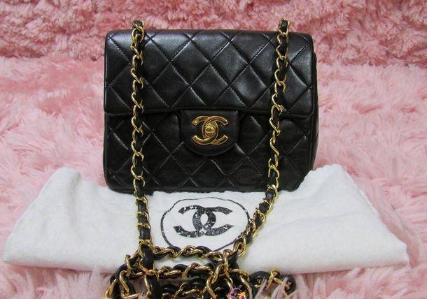 Vintage Chanel 2.55 Mini Flap Bag | Znaffle