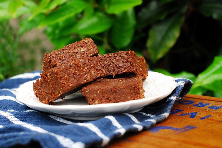 Raw black forest brownie. Gluten free, grain free, paleo. So good!