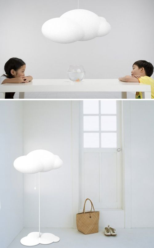 Super dreamy #cloud #light by Chinese designer Zhao #Liping. More of her works can be found on her website http://zhaoliping-design.blogbus.com/ (you need to scroll down a bit to see the designs)