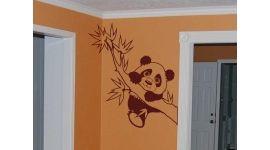 Panda on the tree...