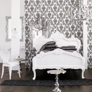 a new take on brocade damask bedroombedroom decorbedroom - Damask Bedroom Ideas