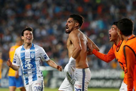 Soccer: Pachuca lift CONCACAF title after 1-0 win over Tigres