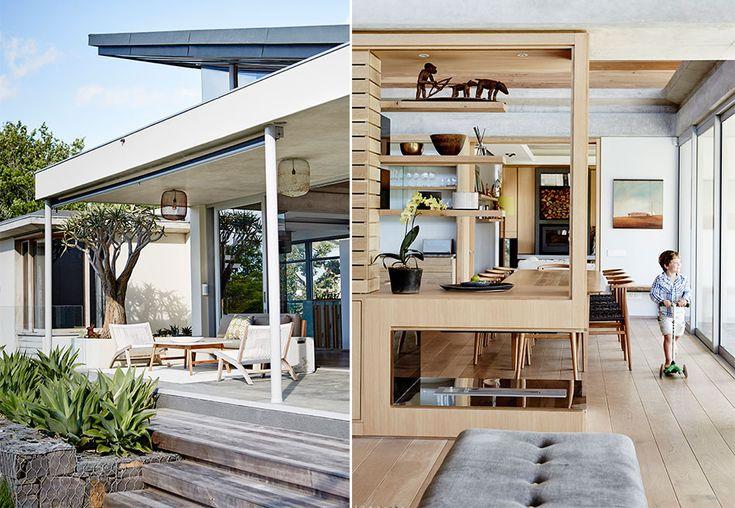 Mellom vinranker og frodige trær titter en arkitekttegnet perle opp fra terrenget, et moderne hjem hvor hus og natur er helt på nett. Bli med inn og se Victoria og Matt Breslers nydelige bolig i Sør-Afrika.