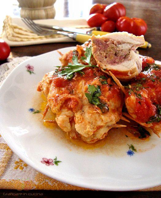 Petti di pollo ripieni http://blog.giallozafferano.it/graficareincucina/petti-di-pollo-ripieni/