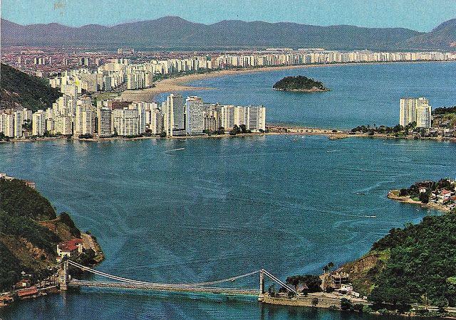 ponte pensil sao vicente anos 70
