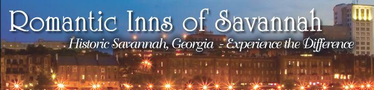 Romantic Inns of Savannah: Bed and Breakfasts in Georgia