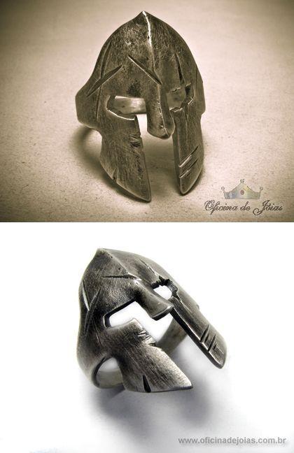 Spartan Ring by raulsouza.deviantart.com on @deviantART: