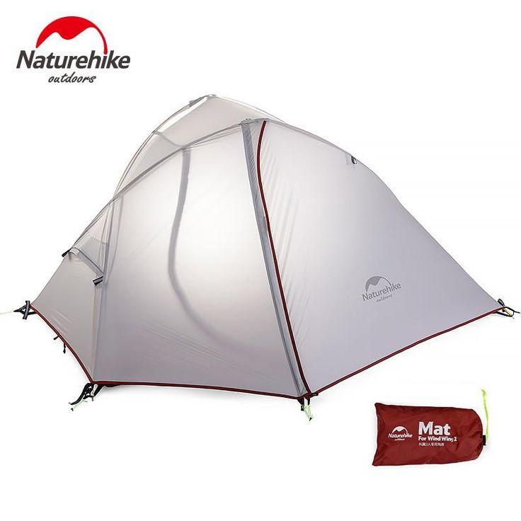 Tente légère «Wind-Wing» de NatureHike pour 1 ou 2 personnes