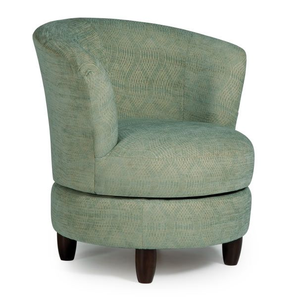 Chairs swivel barrel palmona best home furnishings - Best swivel chairs for living room ...