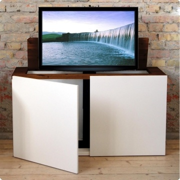 12 best tv lift images on pinterest hidden tv tv stands and bedroom ideas. Black Bedroom Furniture Sets. Home Design Ideas