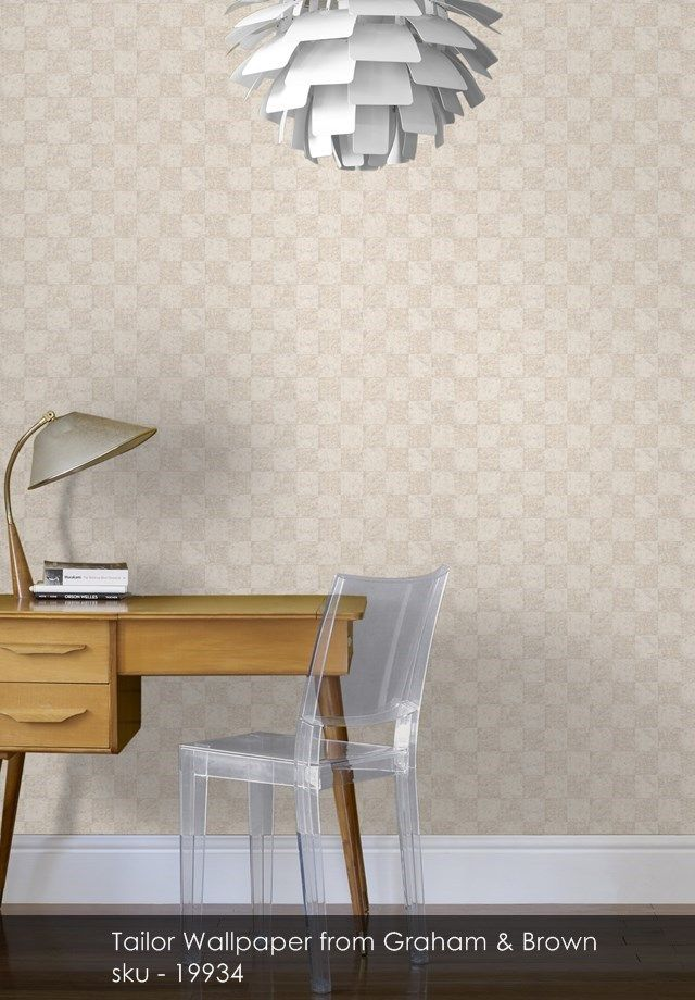 Tailor wallpaper from Graham