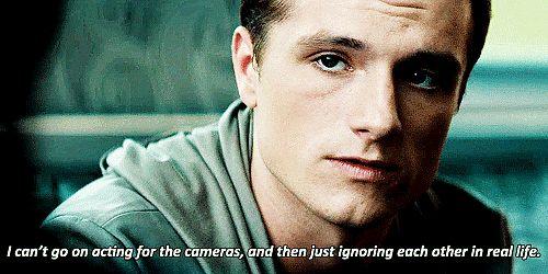 The Hunger Games Peeta GIFs ; he's just so beautiful <3