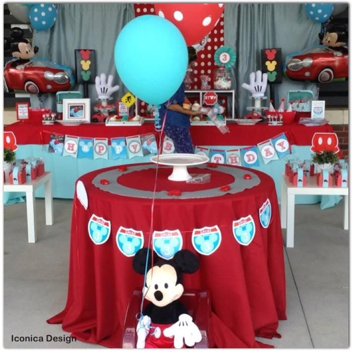 Mickey Mouse Little Red Car Party Full of Fabulous Ideas via Kara's Party Ideas | KarasPartyIdeas.com #MickeyMouseParty