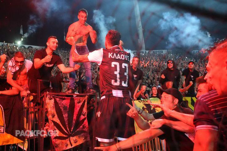 #Klaus #goal #celebration #Gate4 #Toumba #passion #PAOKAEK #superleague #PAOK