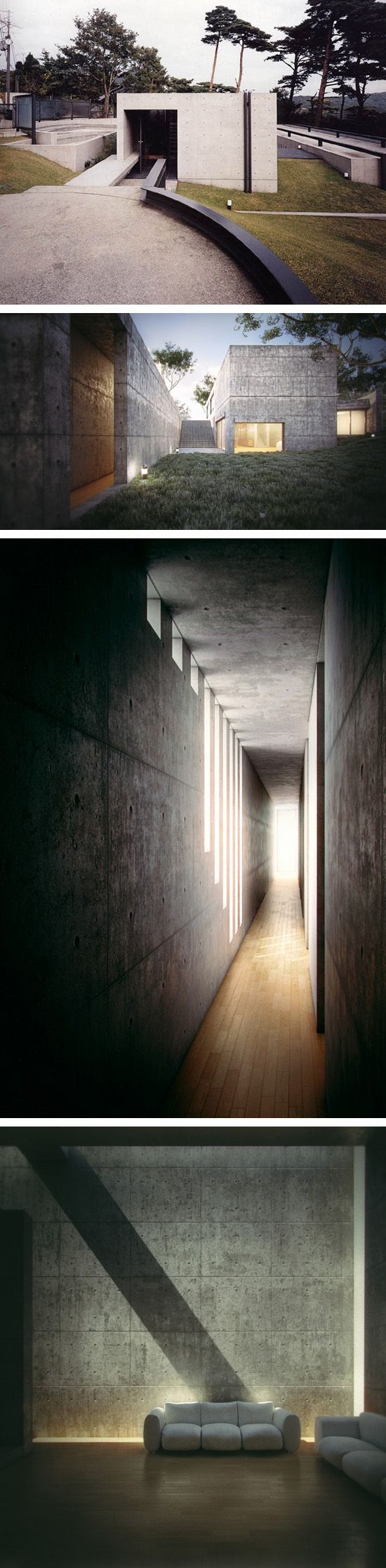 Tadao Ando, concrete and light.